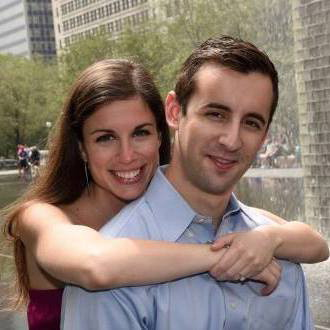 Brittany Farb and Daniel Gruber